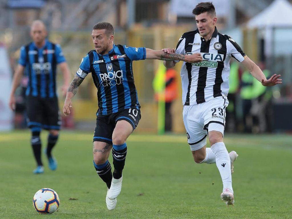 Klasemen Liga Italia: Atalanta Tembus 4 Besar, Milan Urutan Ketujuh