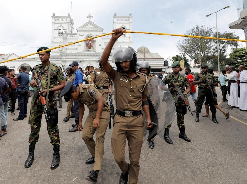 Ancaman Belum Berakhir, Sri Lanka Khawatirkan Lebih Banyak Serangan