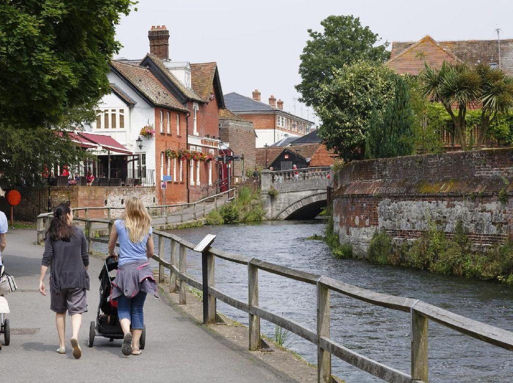 Foto: Indahnya Winchester, Ibu Kota Inggris Sebelum London