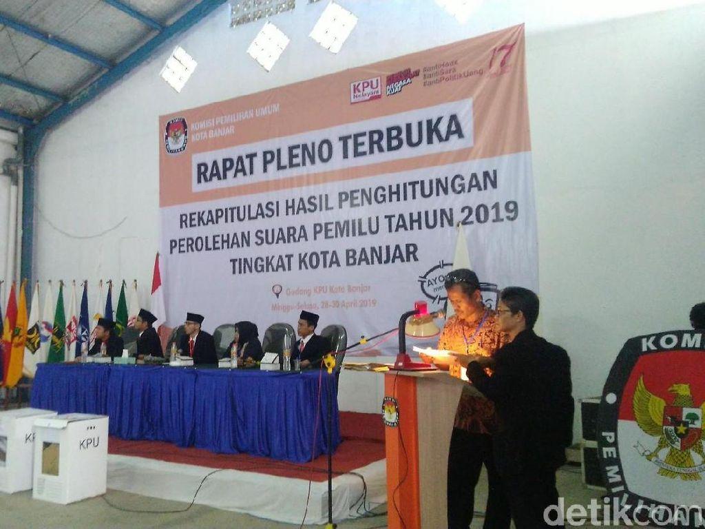 Rapat Pleno Selesai, Jokowi-Maruf Unggul di Kota Banjar