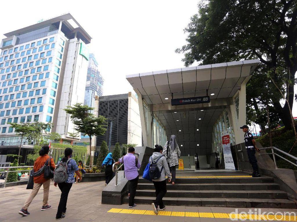 Kolaborasi MRT Munculkan Aneka Ruang Publik Keren