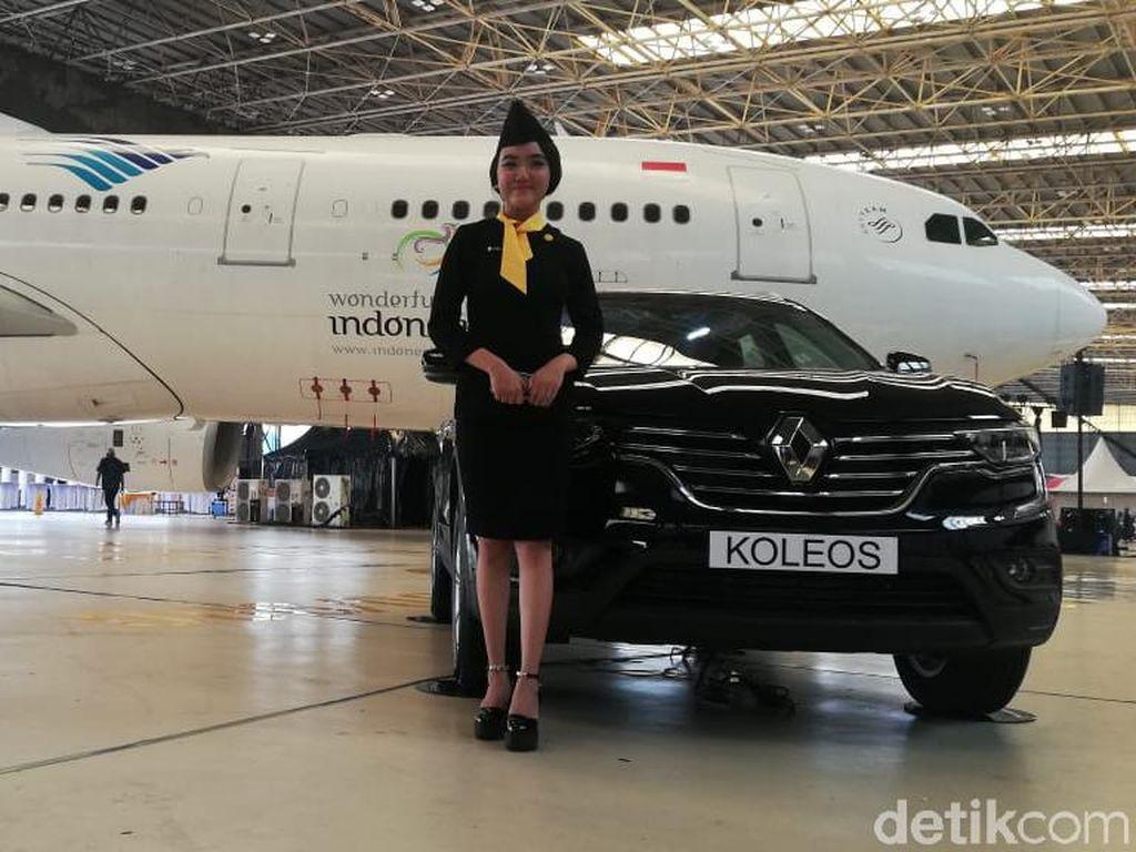 Ketika Renault Luncurkan Mobil di Hanggar Garuda Indonesia