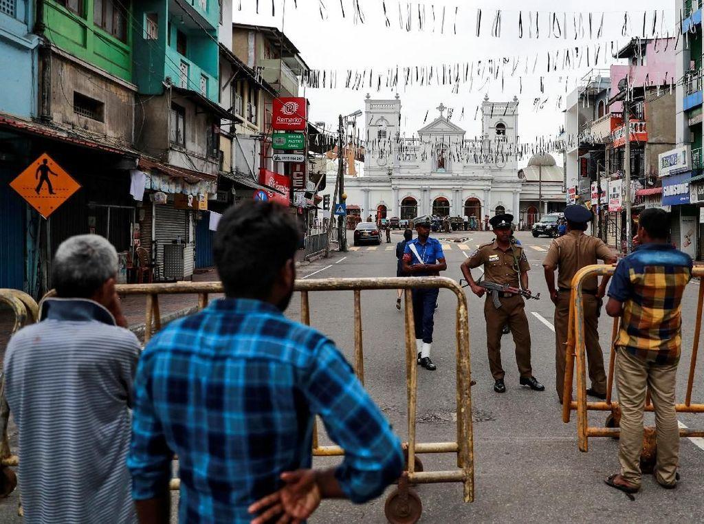 Satu Wartawan Ditangkap Saat Meliput Rentetan Bom Sri Lanka