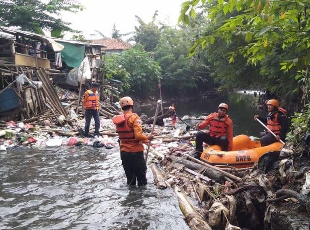 3 Hari Hilang, Bocah Hanyut di Kali Jambe Bekasi Belum Ditemukan