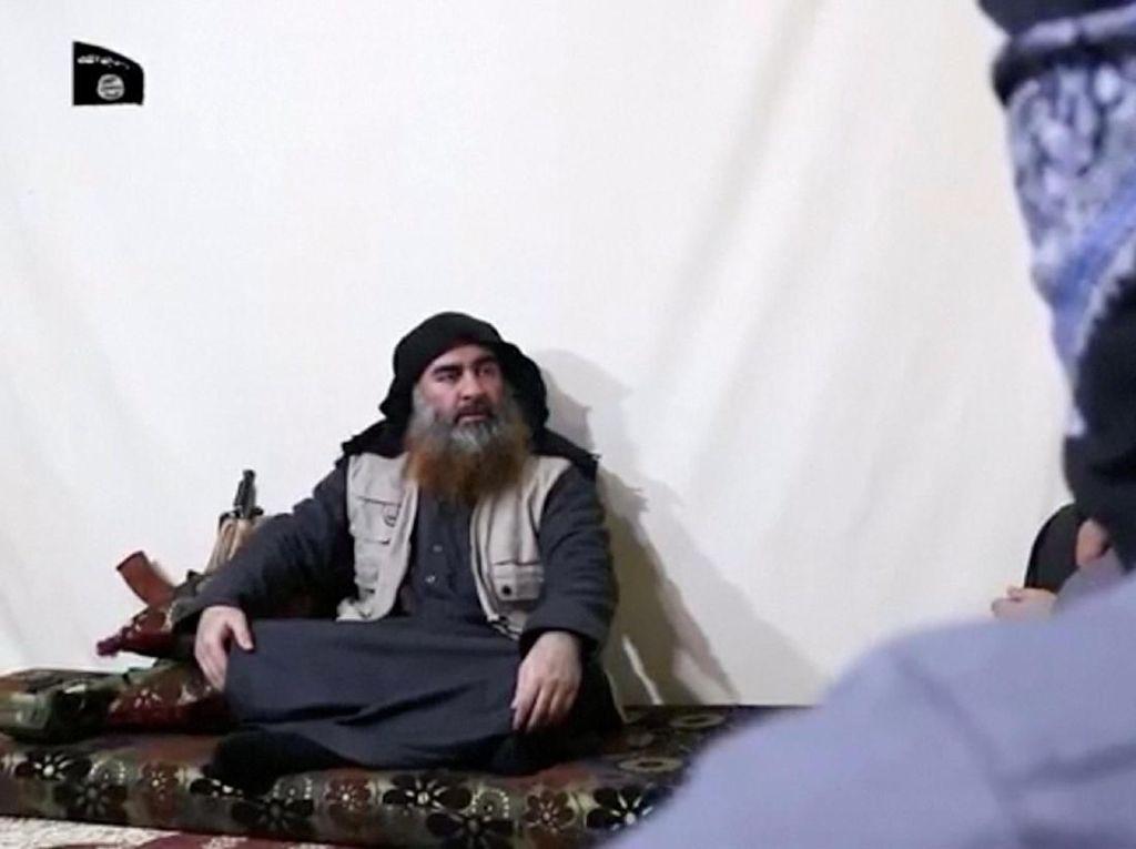 Kata AS Soal Kemunculan Pertama Al-Baghdadi dalam 5 Tahun Terakhir