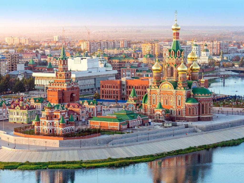 Cerita Rusia yang Bolak-balik Pindahkan Ibu Kota Negaranya