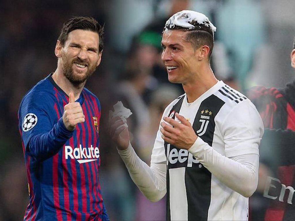 Video Gol-gol Terbaik Semifinal Liga Champions: Messi, Kaka, Ronaldo