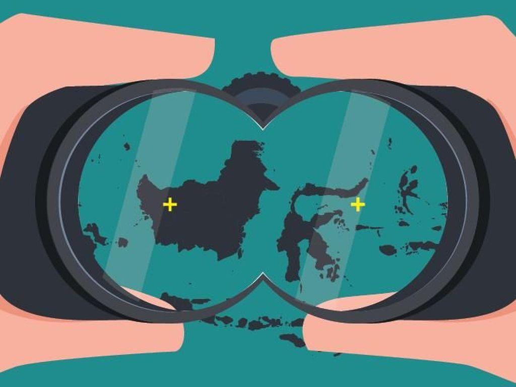 Ibu Kota Baru Tak Bisa di Jonggol atau Pulau Reklamasi