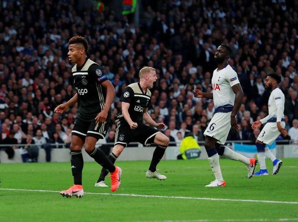 8 Fakta Duel Tottenham vs Ajax
