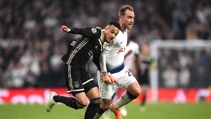 Tottenham tumbang oleh Ajax di kandang sendiri. (Foto: Shaun Botterill/Getty Images)