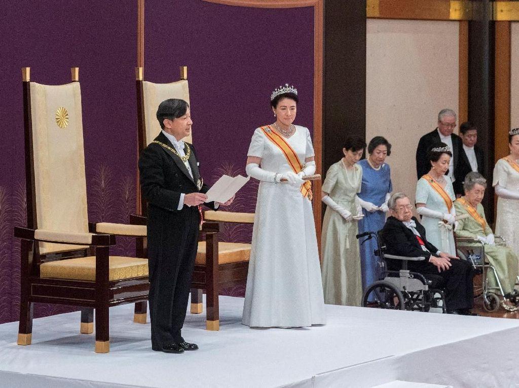 Pidato Pertama Kaisar Jepang Naruhito