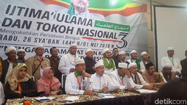 Konferensi pers Ijtimak Ulama III