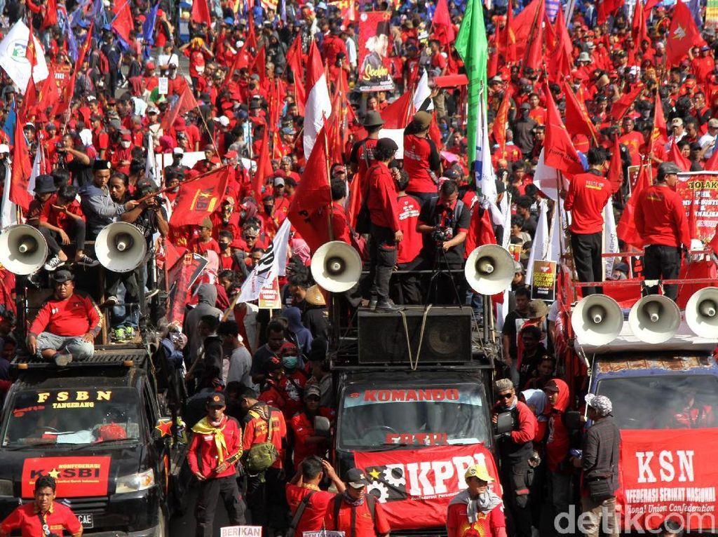 Demo Hari Buruh, Massa Akan Dipusatkan di Istana dan Gedung MK