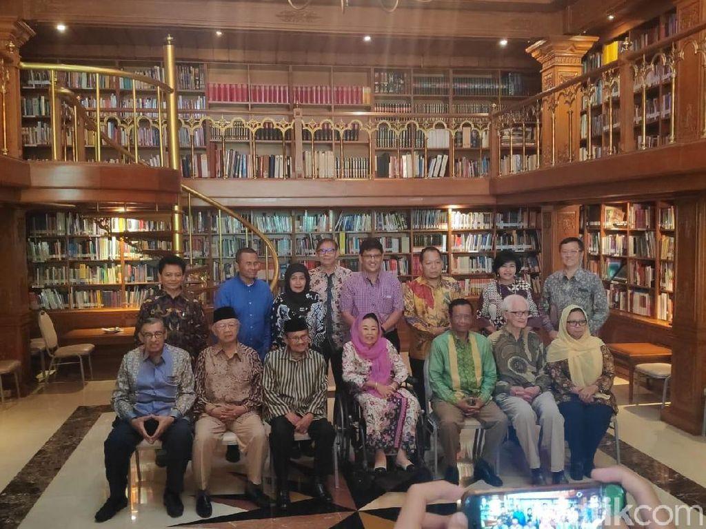BJ Habibie dan Tokoh Suluh Kebangsaan Gelar Silaturahmi dan Sarasehan