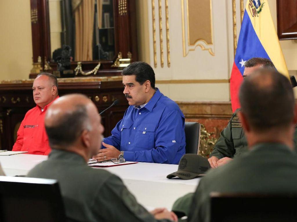 Maduro: Semua yang Terlibat Upaya Kudeta Akan Diselidiki