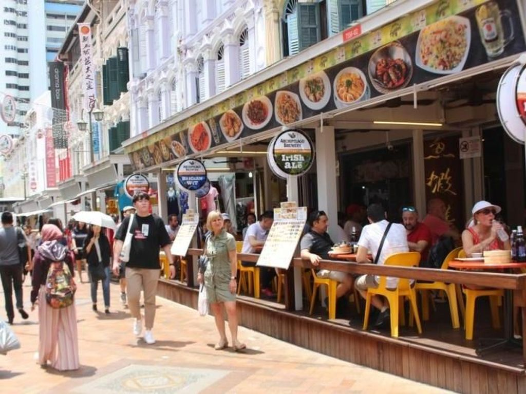 Belanja Sampai Puas di Chinatown Singapura