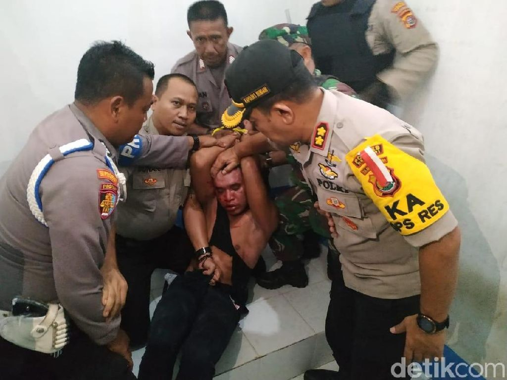 Disertir TNI Penculik Cabul di Kendari Dipindah ke Makassar karena Keamanan