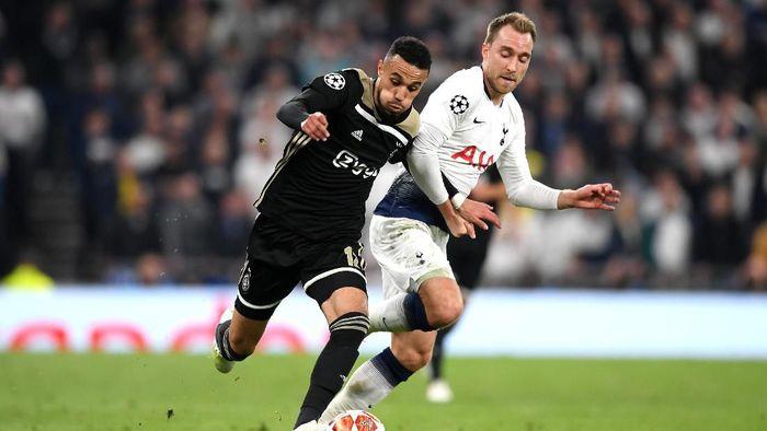 Christian Eriksen menilai Tottenham Hotspur tampil di bawah standar saat dikalahkan Ajax di Liga Champions (Foto: Shaun Botterill/Getty Images)