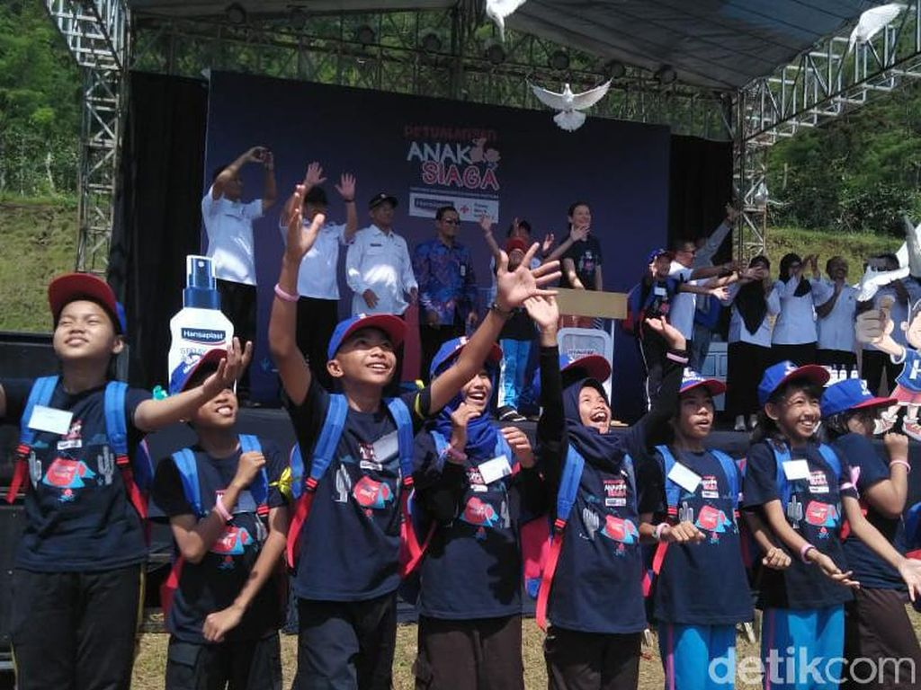 Ratusan Anak Diajak Pahami Mitigasi Bencana dan Pertolongan Pertama