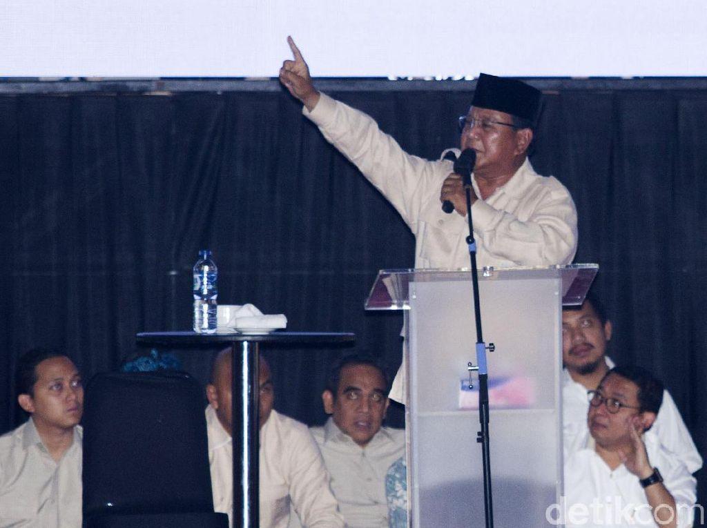 Di Depan Buruh, Prabowo: Saudara Tulang Punggung Ekonomi Nasional