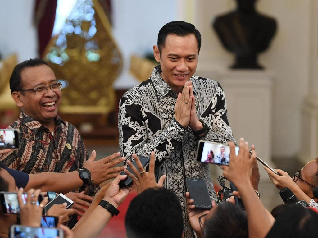 Jika Diminta, Demokrat Sodorkan AHY untuk Pos Menteri ke Jokowi