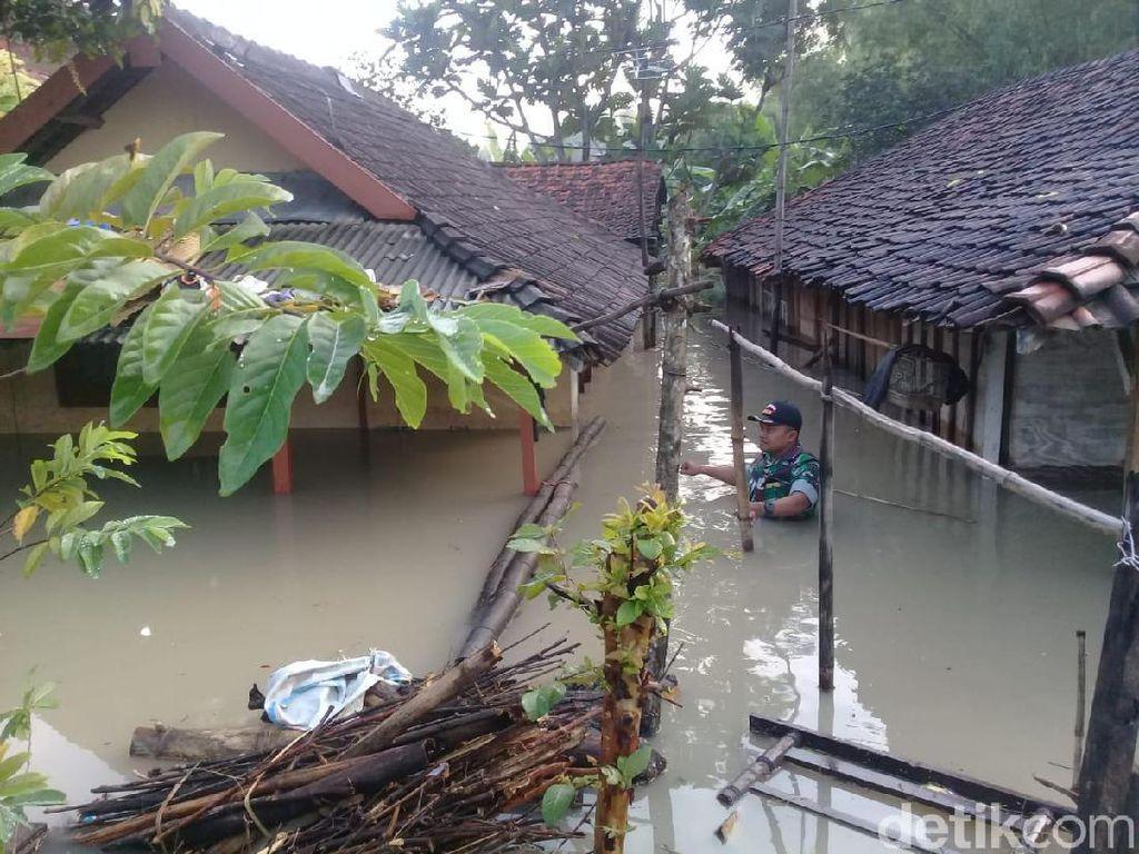 Banjir di Mojokerto Rendam Empat Desa