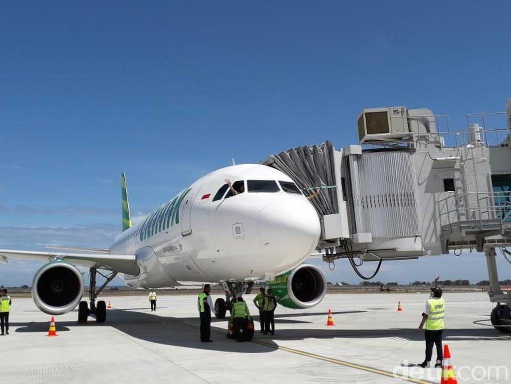 Sensasi Naik Pesawat Terbang ke Yogyakarta di New Normal