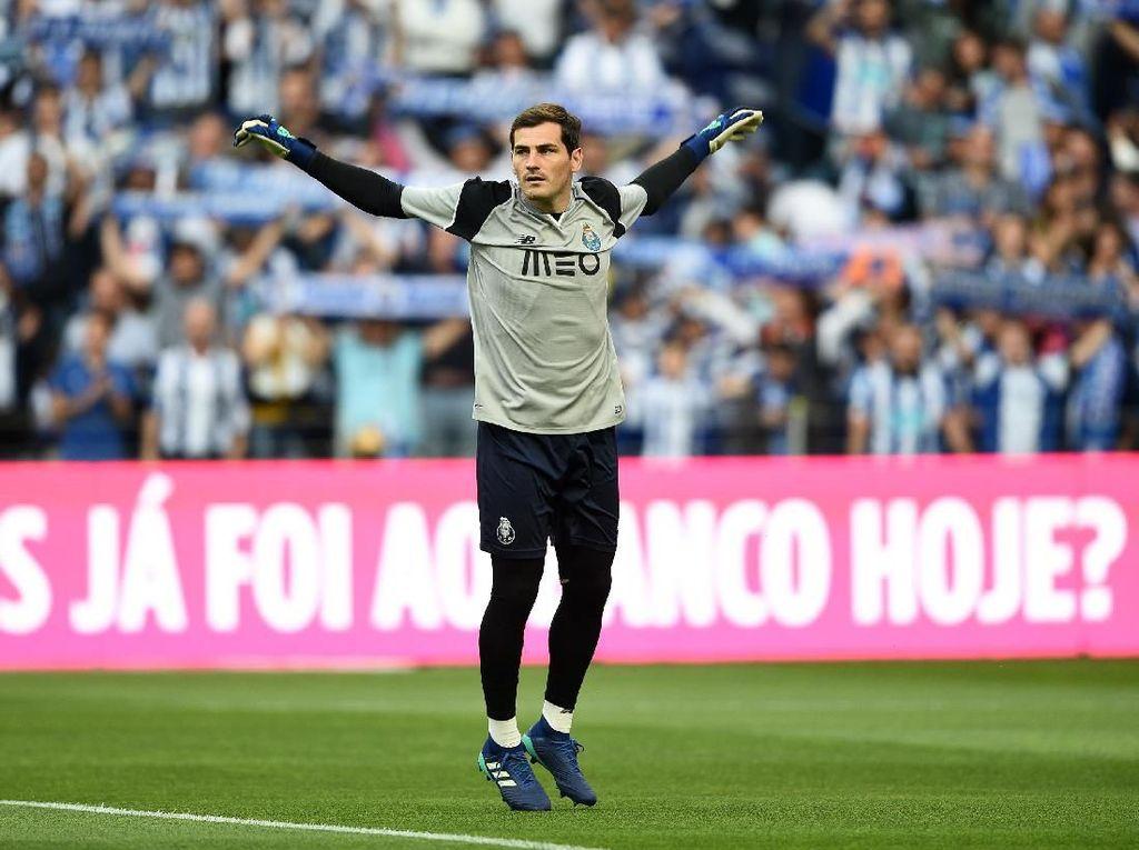 Kena Serangan Jantung, Casillas: Semua Terkendali, tapi Ada Rasa Takut