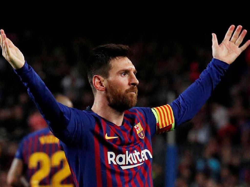 Messi: Andai Datang ke Anfield Sudah Menang 4-0