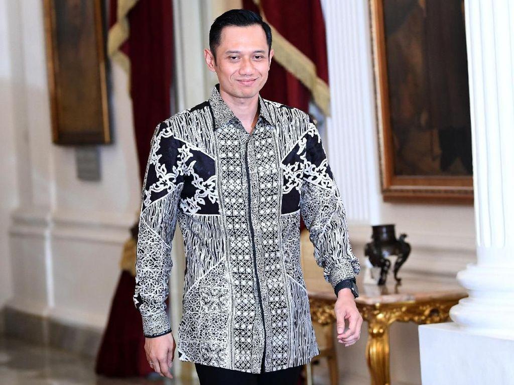 Bertemu Jokowi, AHY: Semua Harus Bisa Terima Apapun Hasil KPU