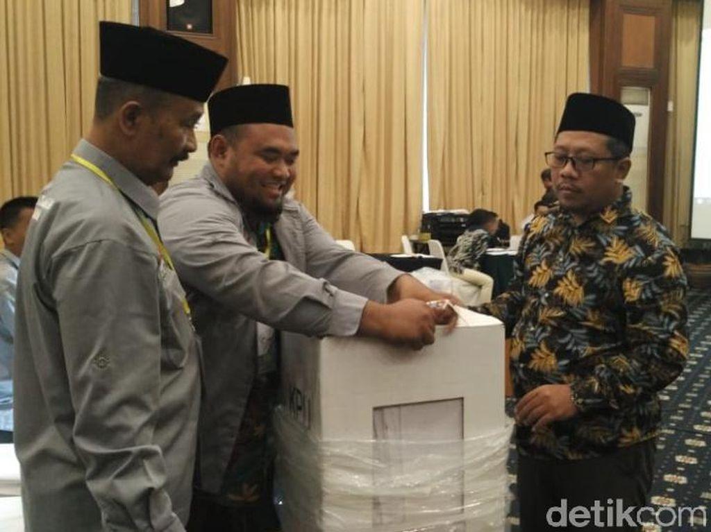 Saksi Prabowo di Kabupaten Pasuruan Tolak Akui Kemenangan Jokowi