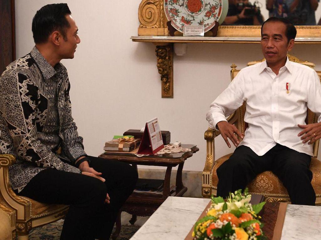 TKN Nilai Pertemuan Jokowi-AHY untuk Dinginkan Suasana Politik