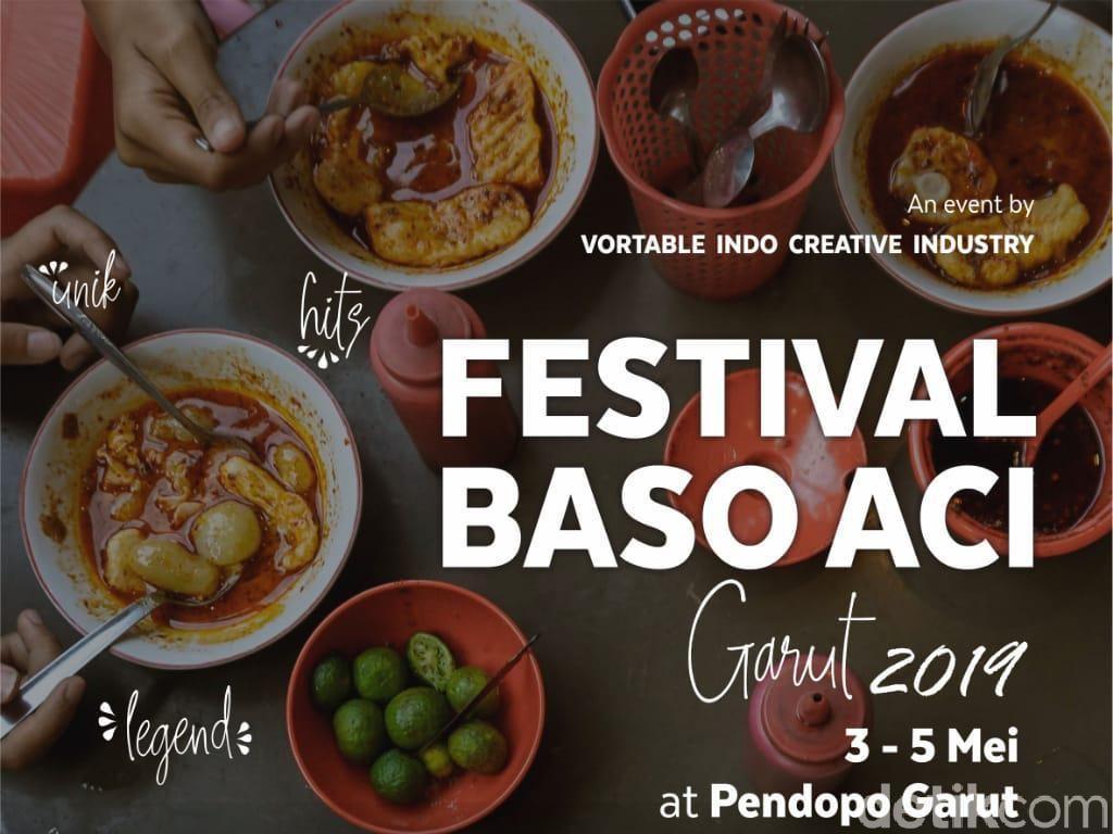 Catat! Besok Ada Festival Bakso Aci Pertama di Garut