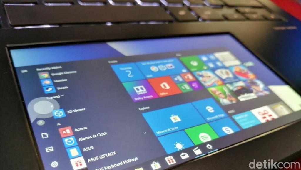 Melihat Laptop Anyar Asus, Punya Dua Layar Speknya Gahar
