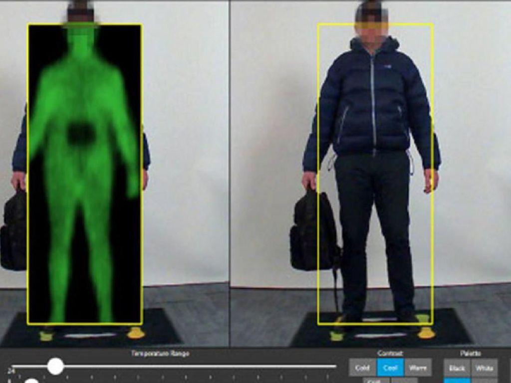 Alat Pindai Tubuh di Bandara AS Langgar Privasi, Ini Solusinya