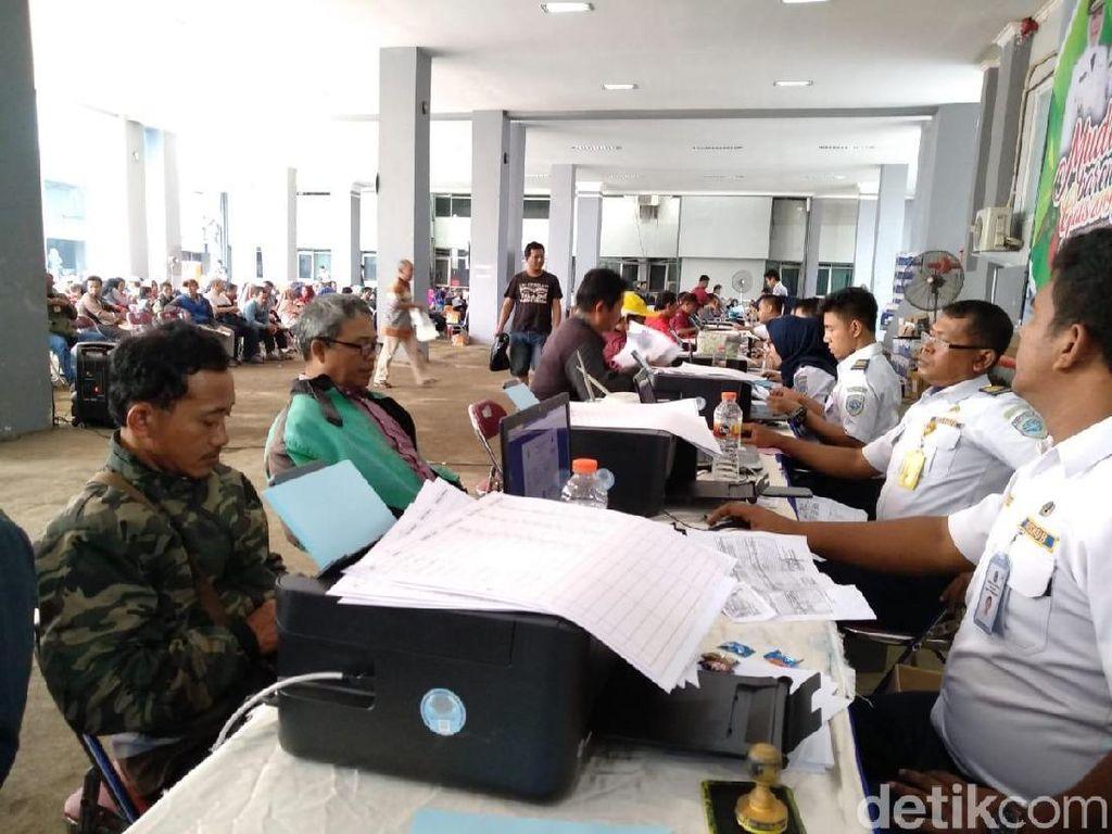 Pendaftaran Mudik Gratis di Jatim Diserbu Ribuan Warga