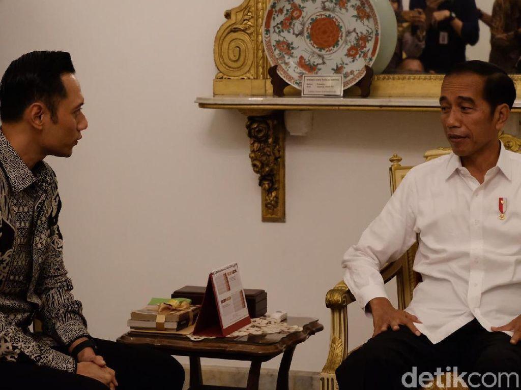 AHY Sudah Dikontak Istana Sejak 3 Hari Lalu untuk Bertemu Jokowi
