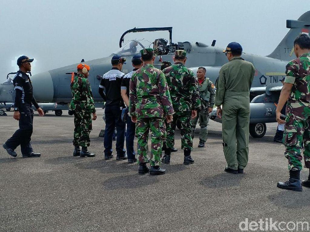 12 Pesawat TNI AU Jalani Latihan Tempur di Lanud Palembang