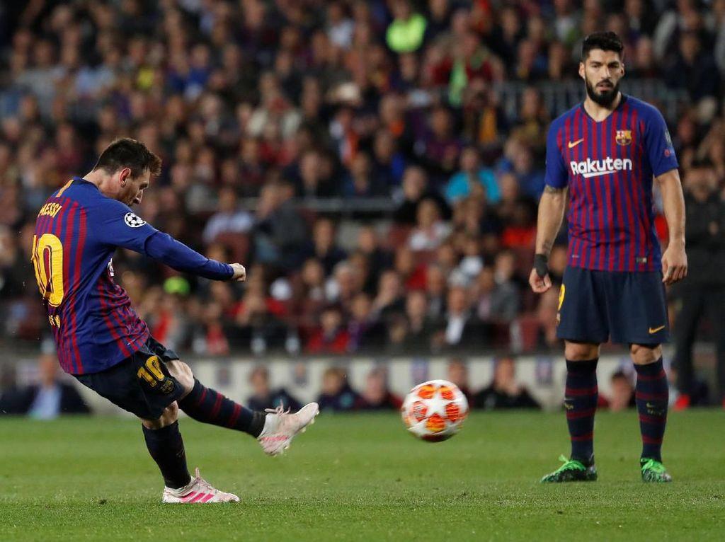 Gol Messi ke Gawang Liverpool Jadi yang Terbaik di Eropa