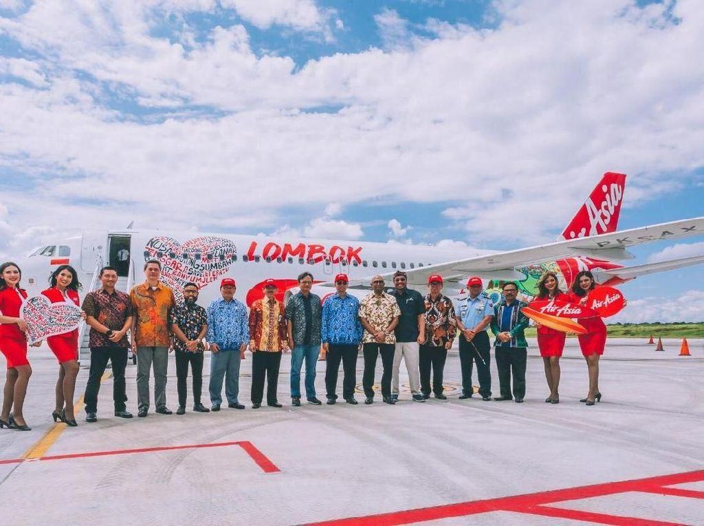 Dukung Pariwisata RI, AirAsia Resmikan Pusat Operasi di Lombok
