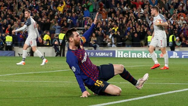 3 Rekor yang Bisa Dipecahkan Messi Kontra Liverpool
