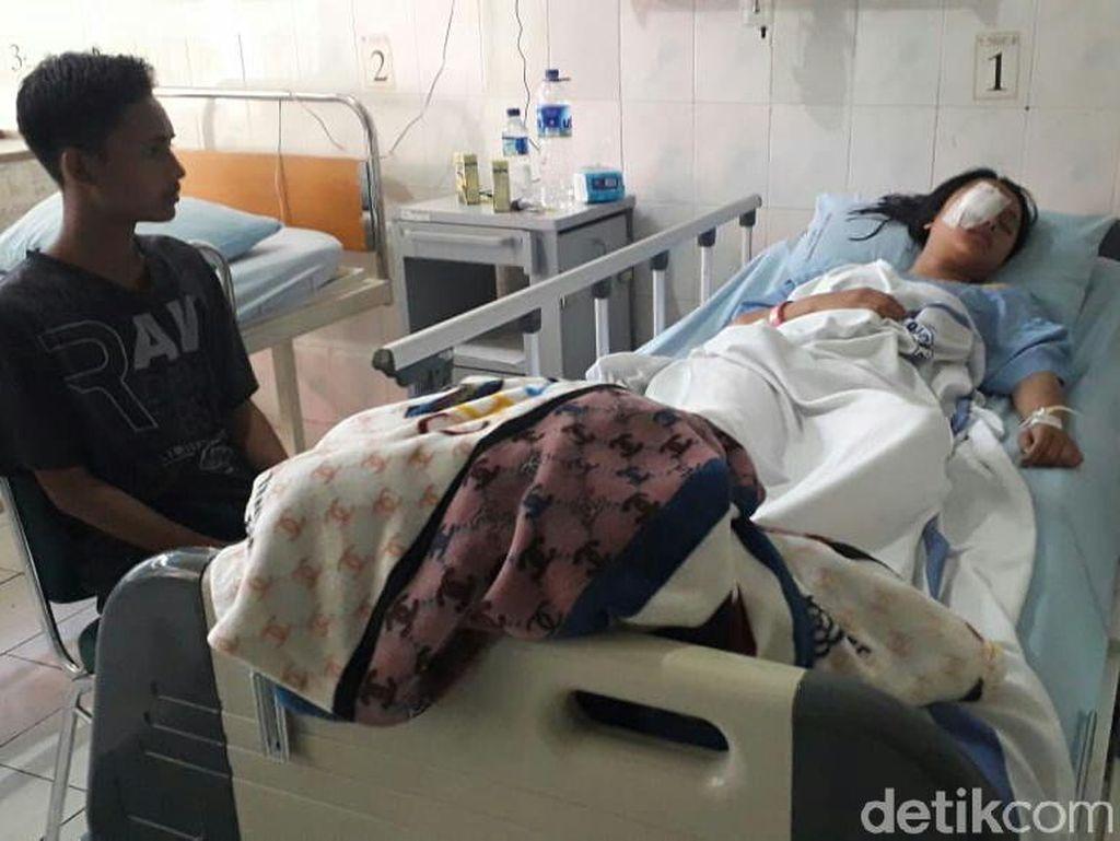 Siswi SMP Ini Harus Operasi Mata yang Terluka Terkena HT Polisi