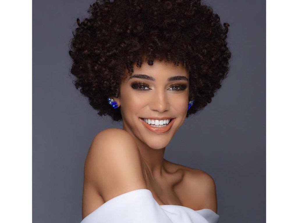 Ini Remaja Cantik Juara Miss Teen USA 2019 yang Viral karena Rambut Kribo