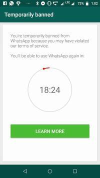 GanSis pengguna WhatsApp Mod? Awas kena blokir!!