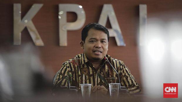 Ketua KPAI Susanto membantah merekomendasikan penghentian audisi bulu tangkis, tapi hanya meminta penggantian logo.