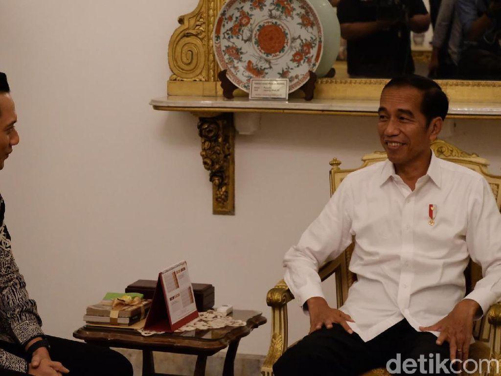 Bertemu Jokowi, AHY Minta Semua Pihak Dewasa Sikapi Hasil Resmi KPU