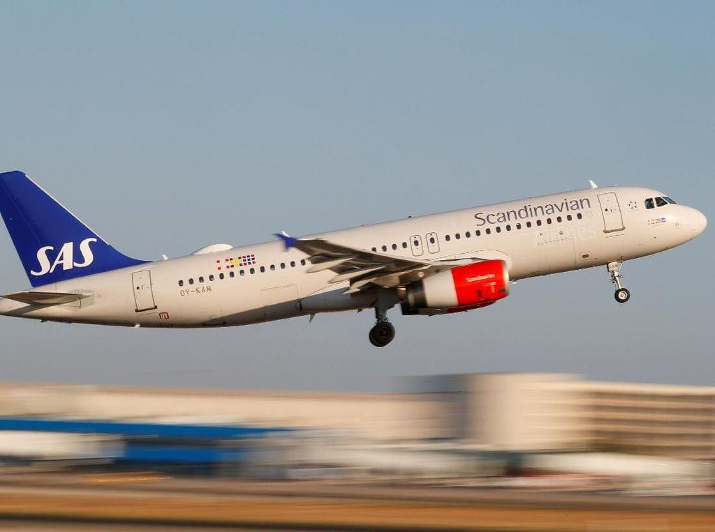 Pilotnya Mogok Kerja, SAS Batalkan 3.810 Penerbangan