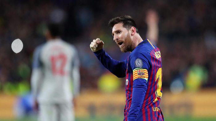 Lionel Messi top skor Liga Champions 2018/19. (Foto: Catherine Ivill/Getty Images)