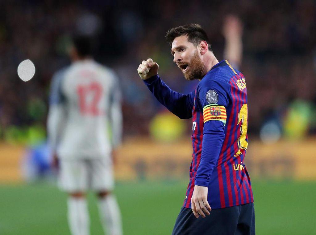 Lionel Messi dan Para Pencetak Gol Terbanyak di Liga Champions 2018/2019