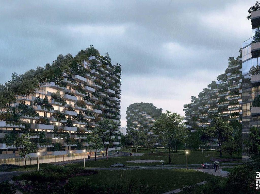 Foto: Seperti Apa Kota Hutan China?